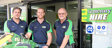 A crew that offers construction equipment hire in Brisbane