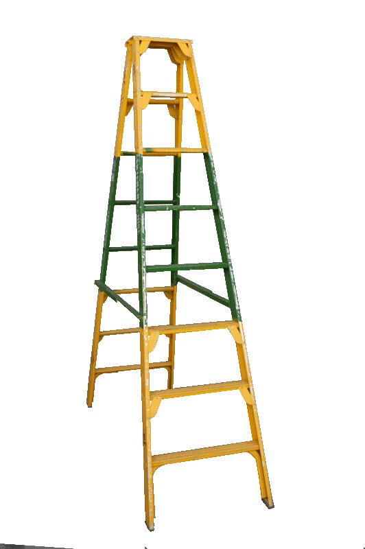 Step ladder for A frame ladder safety tips