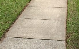 Neat grass edge