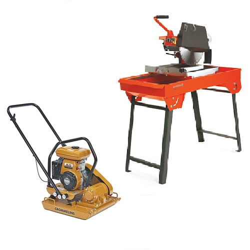 Plate Compactor & Bricksaw