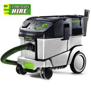 Dust extraction vacuum